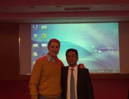 Smilkininio apatinio žandikaulio sąnario chirurgijos konferencija Šanhajuje, Kinijoje. D.Razukevičius